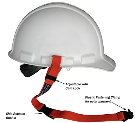 Hard Hat Lanyard with fastening clamp- Patented