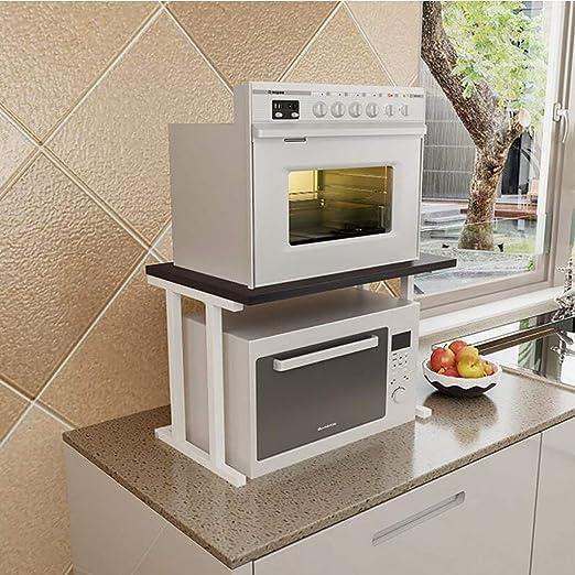 ACZZ Rack de horno de microondas, práctica cocina Rack de ...