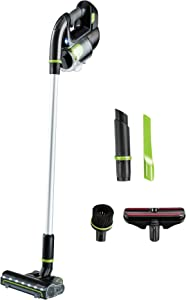 BISSELL Multi Reach Plus Cordless Stick Vacuum 22v Lithium Ion Battery with Removable Auto Hand Vacuum and Upholstery Tool, 21513, Black