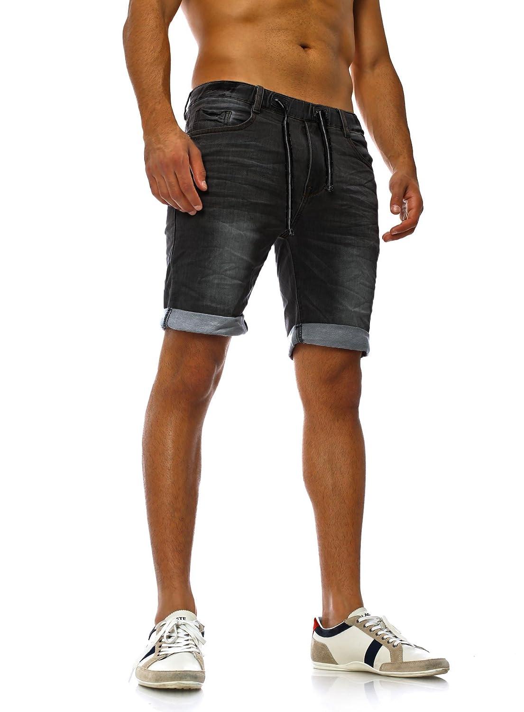 8295af061193 Sweat Jeans Denim Jogger Shorts Sommer Kurze Hose Sublevel 98-86 dunkelblau