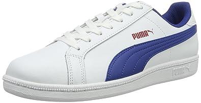 Puma Smash Fun L, Sneakers Basses Garçon, Blanc (White), 39 EU