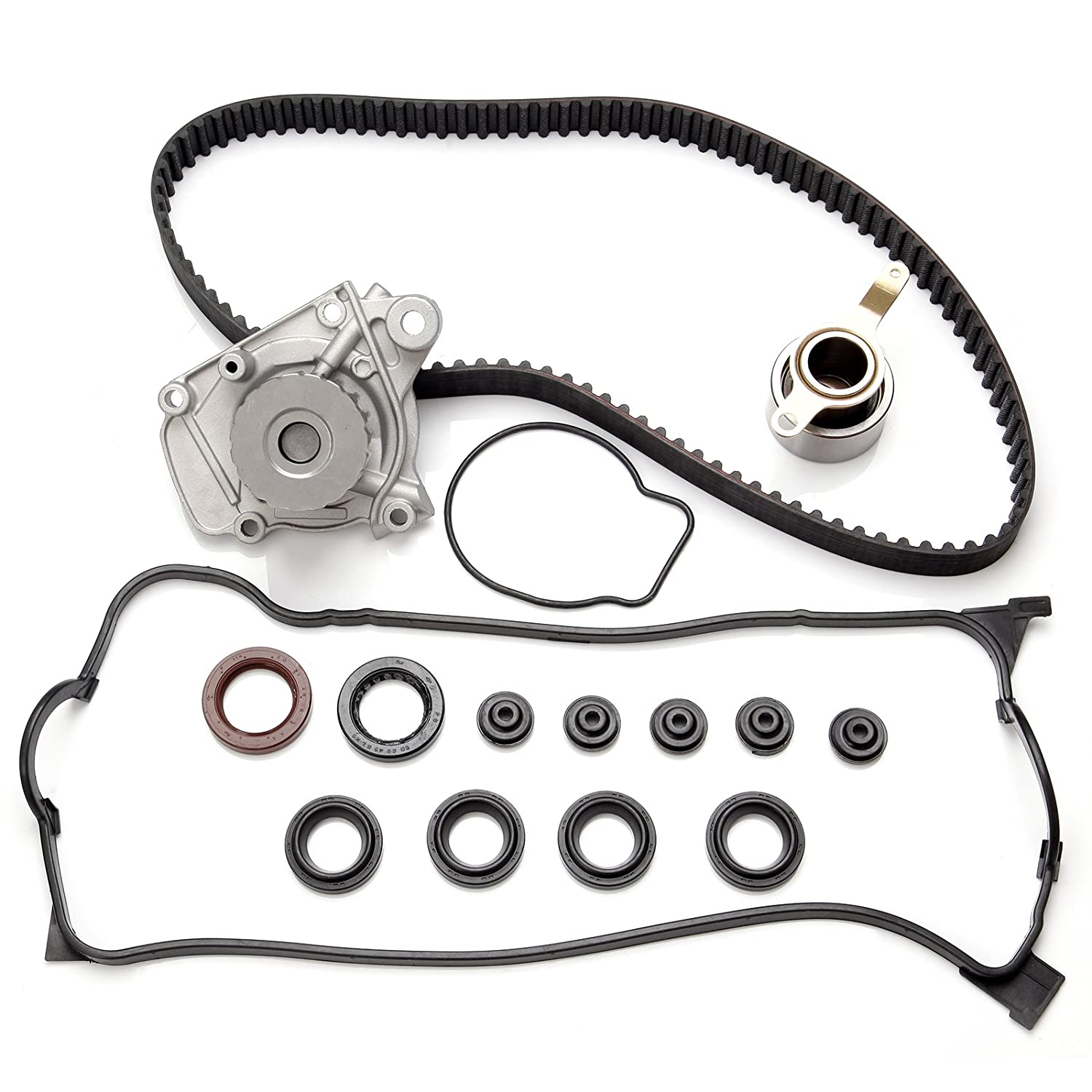 Scitoo Timing Belt Water Pump Kit Valve Cover Gasket For Honda Civic 1.6L SOHC D16Y7 1996-2000 052727-5206-1659423