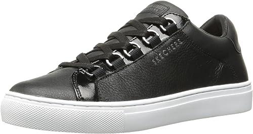 Shop Skechers Women's Side Street Core Set Hi Sneaker Black