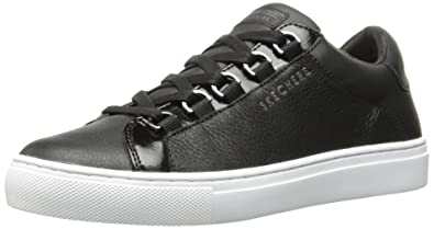 Skechers Damen Side Street Core Set Sneaker, Schwarz