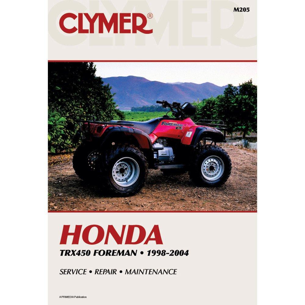 Clymer Honda TRX450 Foreman 1998 M205