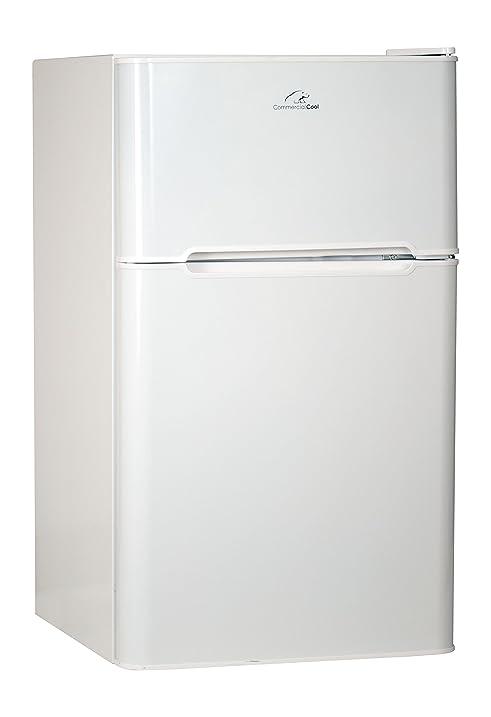 Commercial Cool CCRD32W Compact Double Door Refrigerator with True Freezer 3.2 Cu. Ft.  sc 1 st  Amazon.com & Amazon.com: Commercial Cool CCRD32W Compact Double Door Refrigerator ...