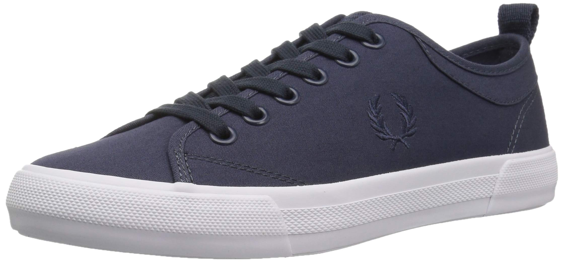 Fred Perry Men's Horton Shower Resist FINE CNV Sneaker, Dark air Force, 6 D UK (7 US)