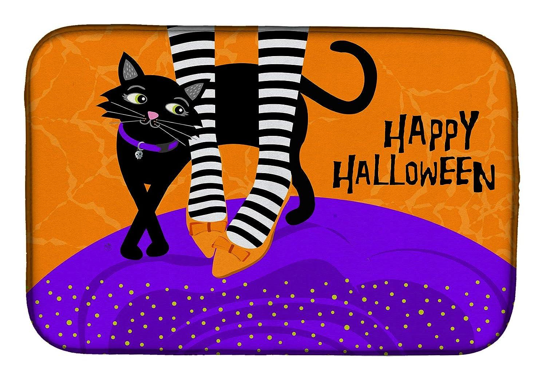 Carolines Treasures VHA3038DDM Halloween Witches Feet dish-drying-mats 14 x 21 Multicolor