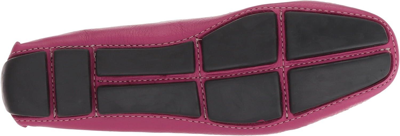 Massimo Matteo Womens Penny Keeper B07BJLP7RT 8.5 B(M) US|Magenta Denver Leather
