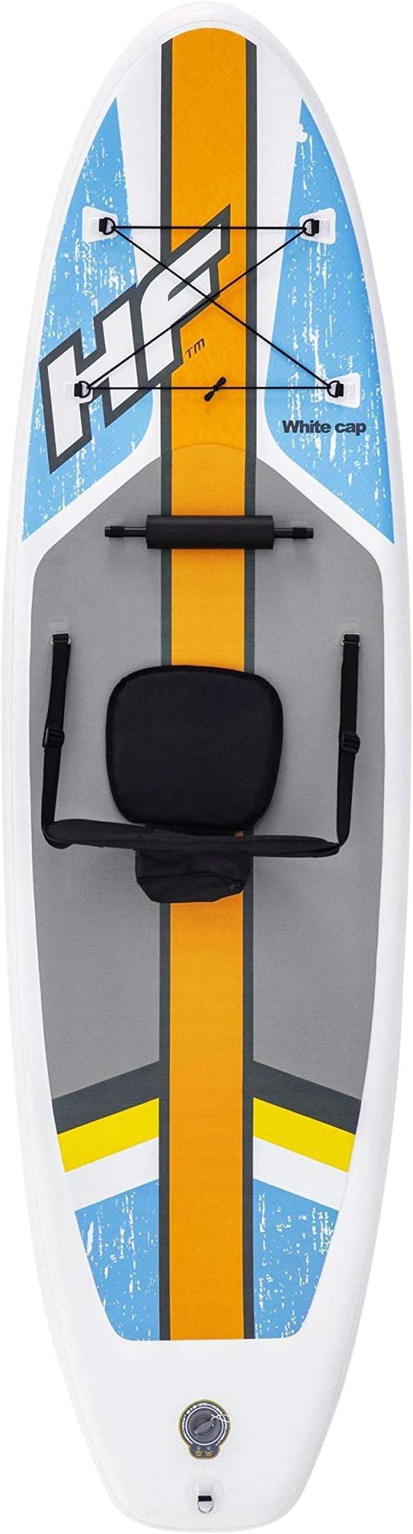 Paddle gonflable SUP et kayak White Cap 305 x 81 x 10 cm