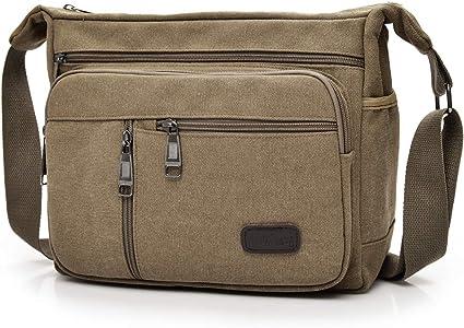 Umhängetasche Crossbody Tasche Schultertasche Messenger Bag Casual Vintage