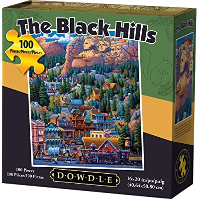 Dowdle Jigsaw Puzzle - The Black Hills - 100 Piece: Toys & Games