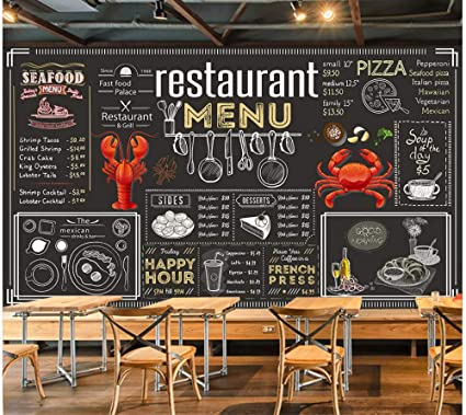 Fotomural Grande 3D Wallpapers-Pintado A Mano, Pizarra, Tiza ...