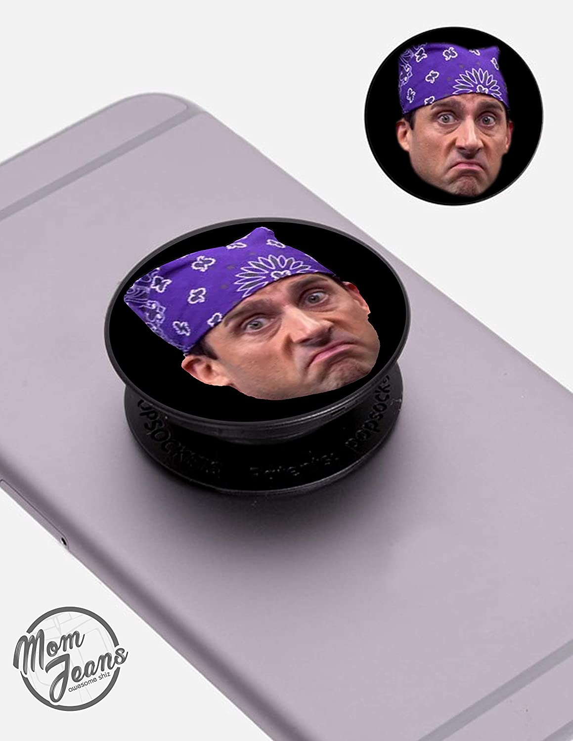 Prison Mike Pop- UP Phone Grip - The Office - Fun Phone Gadget