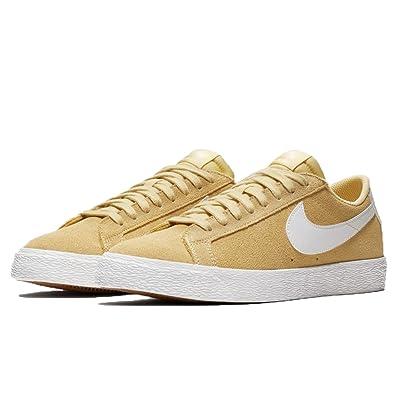 huge selection of a2655 e5c13 Nike SB Mens SB Blazer Zoom Low Skateboarding Shoes Yellow 8 Medium (D)
