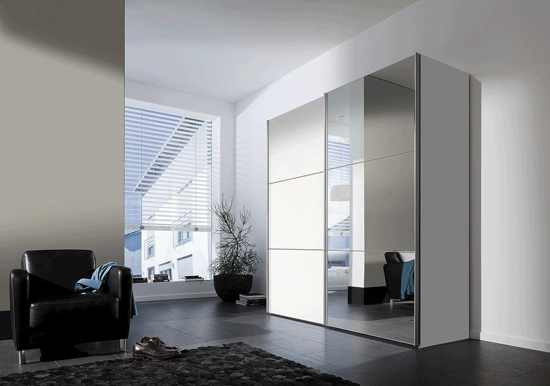 SAM® Armario flotante Puerta de espejo para puerta corredera 200 ...