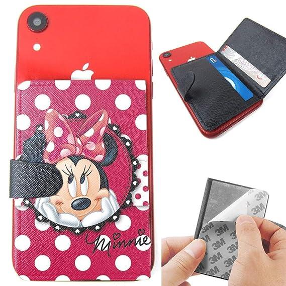 promo code 93f8d 5d34f Amazon.com: Minnie Mouse #Polkadots 3M Adhesive Slim Flip Card ...