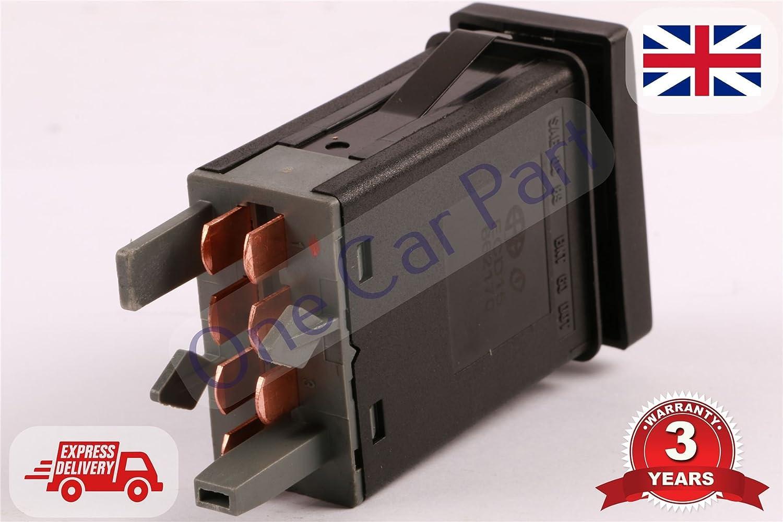 F/ür Passat 1996 2005/Hazard Warnanzeige Licht Schalter Knopf 3B0953235D