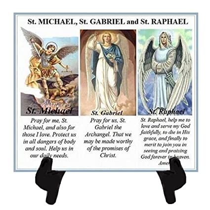 Amazon com: Gifts by Lulee, LLC Three Archangels Trio of