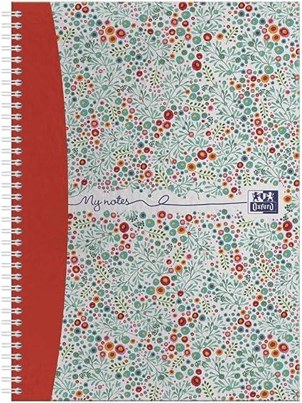 Oxford Floral - Juego de cuadernos (A5, tapa dura), diseño de flores Pack individual: Amazon.es: Oficina y papelería