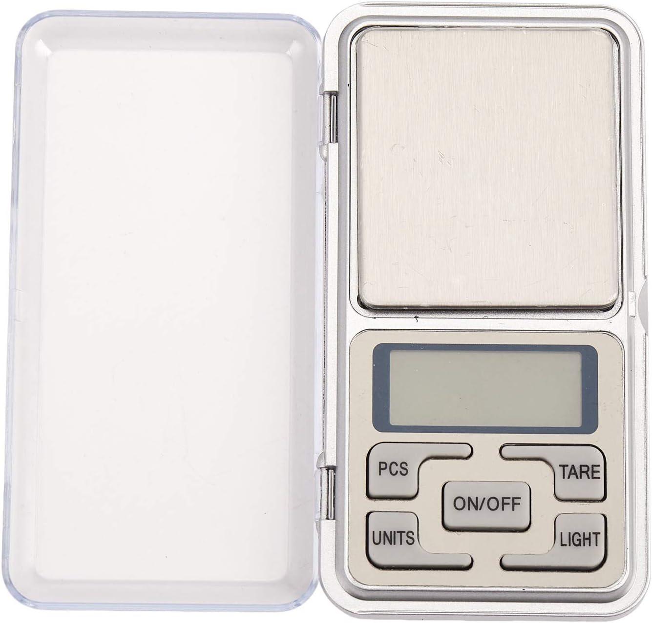 TOOGOO 500g x 0.01g bascula Digital Bascula de Joya Herramientas de Peso de Bolsillo de medicion de de Alta Precision Pantalla LCD