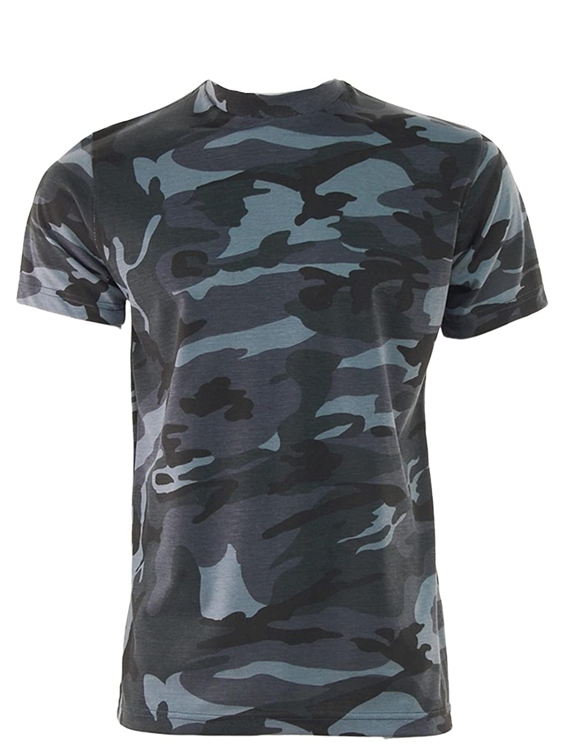 Mens/' Camouflage Camo Military Army Outdoors Hunting Fishing T Shirt Cotton