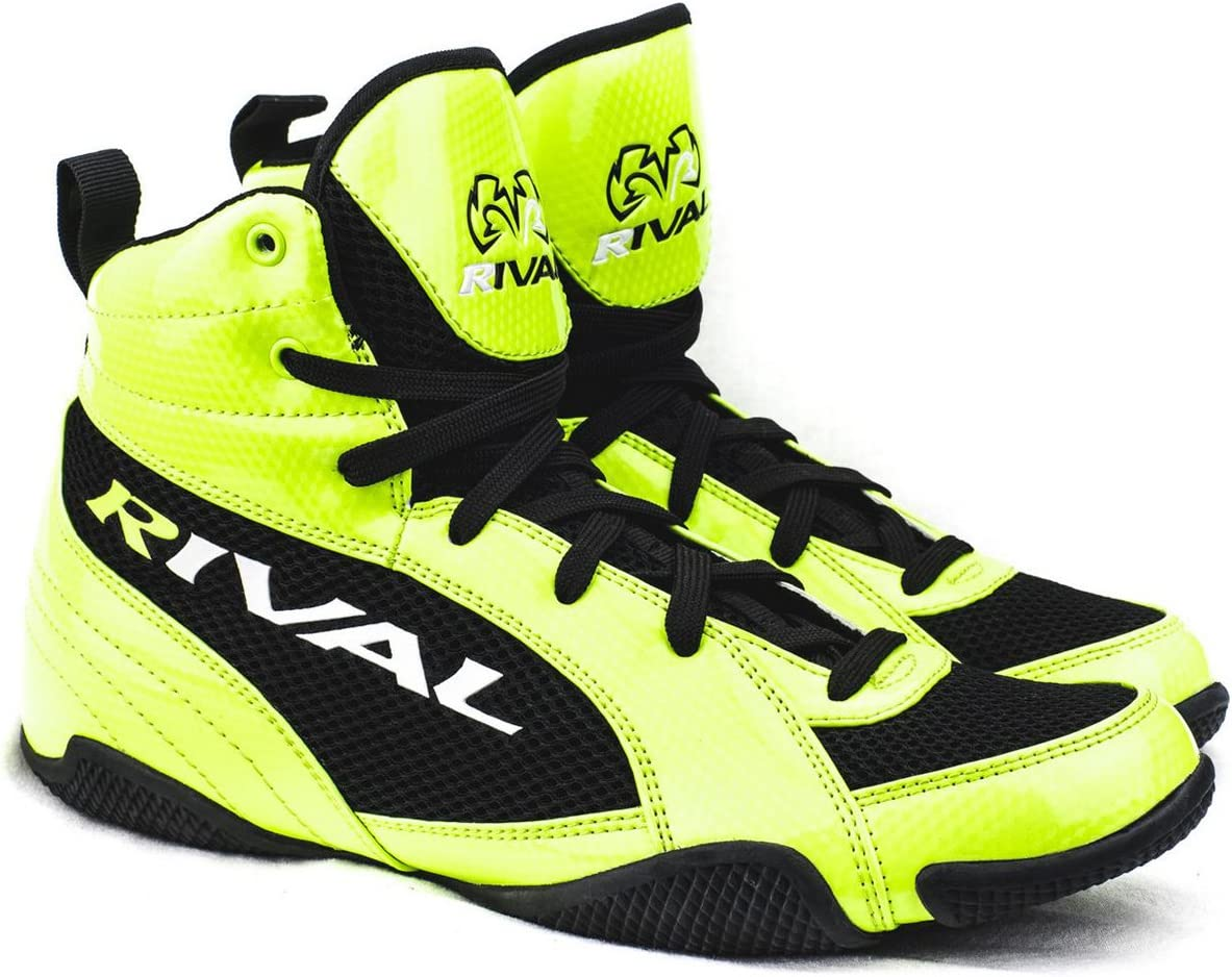 Rival Boxing lo-top Youth Guerreroブーツ Lime 緑 & 黒
