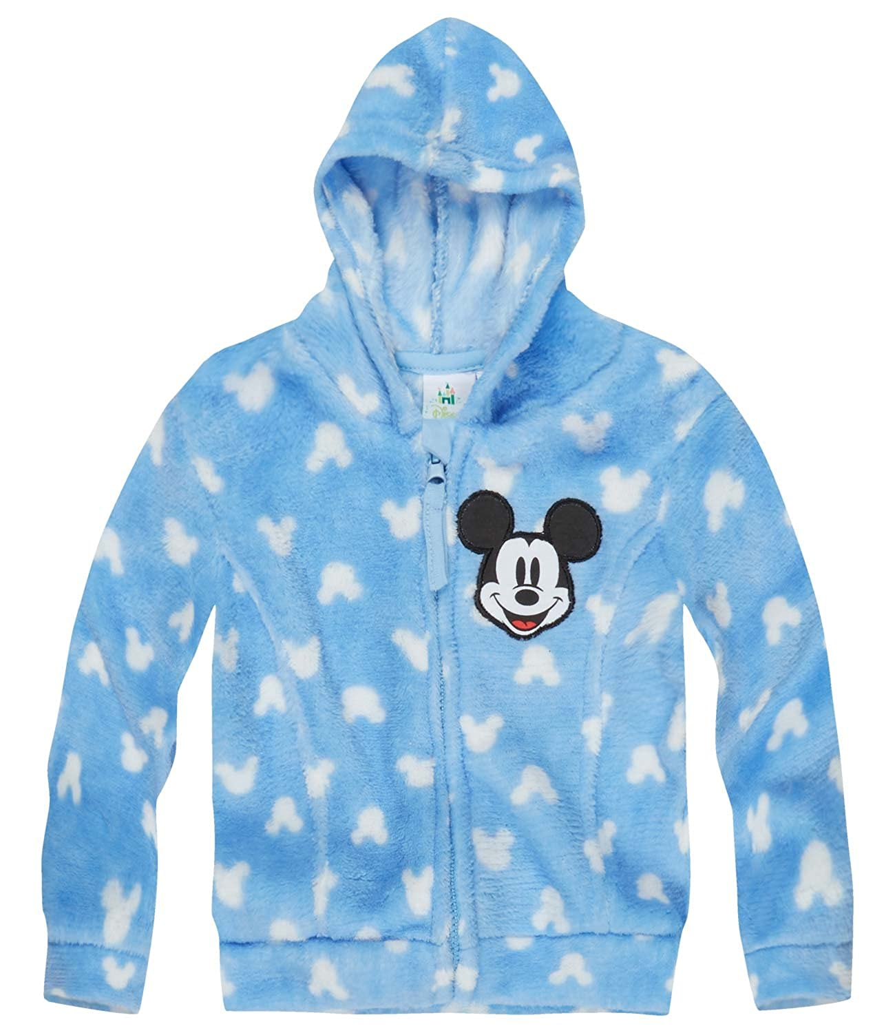 Disney Mickey Babies Giacca in pile, Coral 2016 Collection - blu