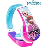 Tavitoys-3027SK Auriculares Frozen Ajustables Y LIMITADOR DE Volumen Color Azul Sakar 30327