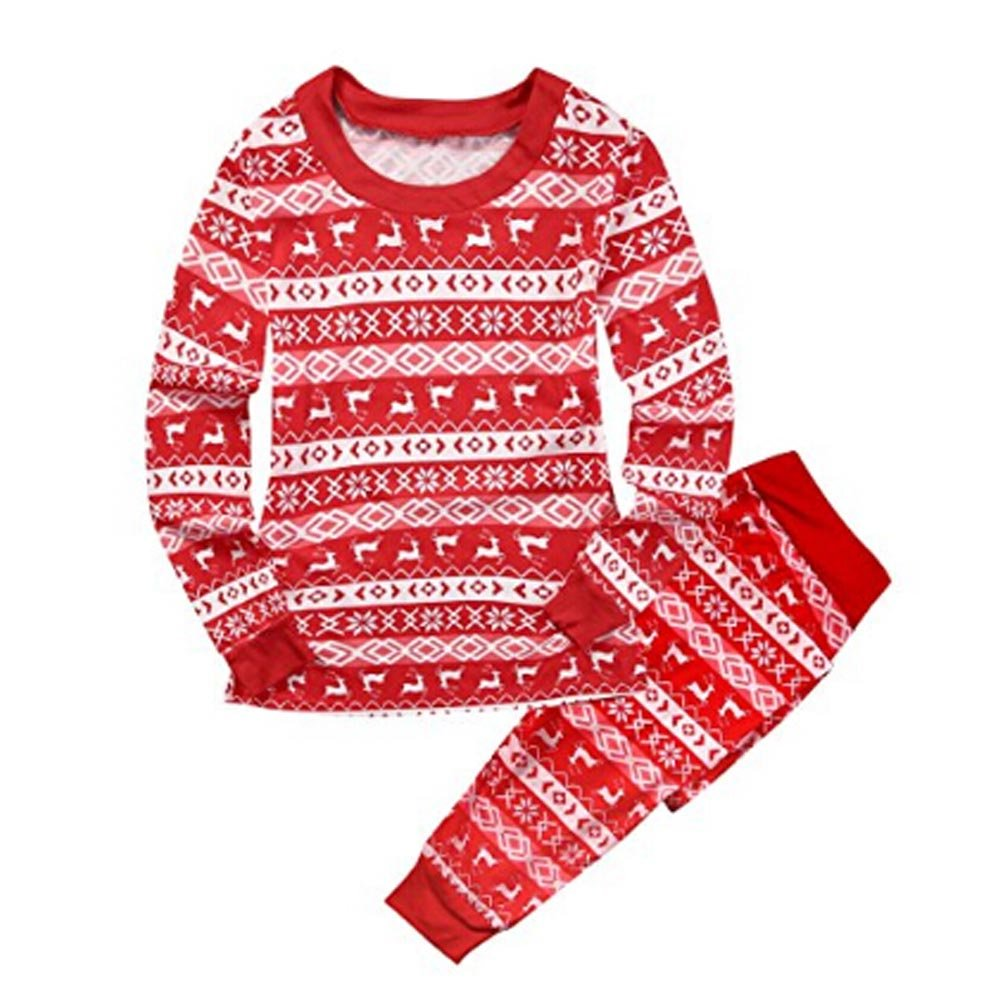 family matching christmas pajamas setwongfon sleepwear nightwear pyjama father mother kids newborn romper tops pants set