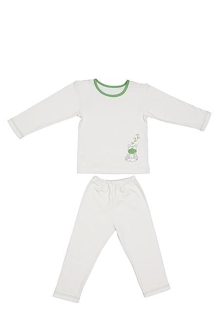 Zizzz Pijama 2-3 años 100% ecológico – fabricado en bio algodón orgánico –