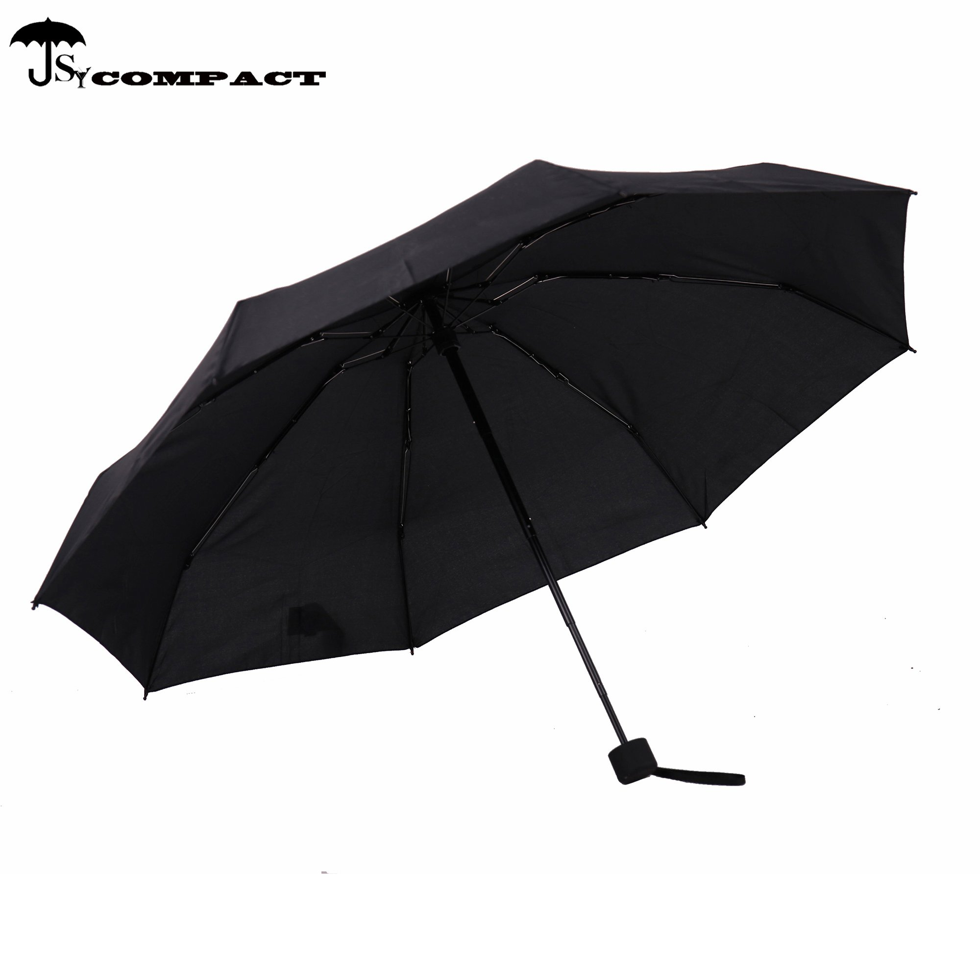 SY COMPACT Travel Umbrella - Lightweight Portable Mini Compact Umbrellas-Factory Outlet Shop (Black) by SY COMPACT (Image #4)