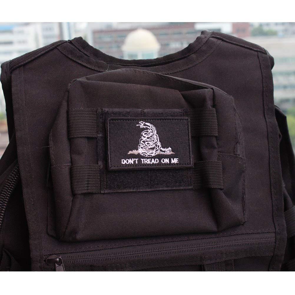 3 Pour casquettes enti/èrement brod/és pour activit/és en plein air gilets tactiques uniformes militaires 8 Pack t/ête de mort sacs Lot de 8 patchs tactiques drapeaux am/éricains