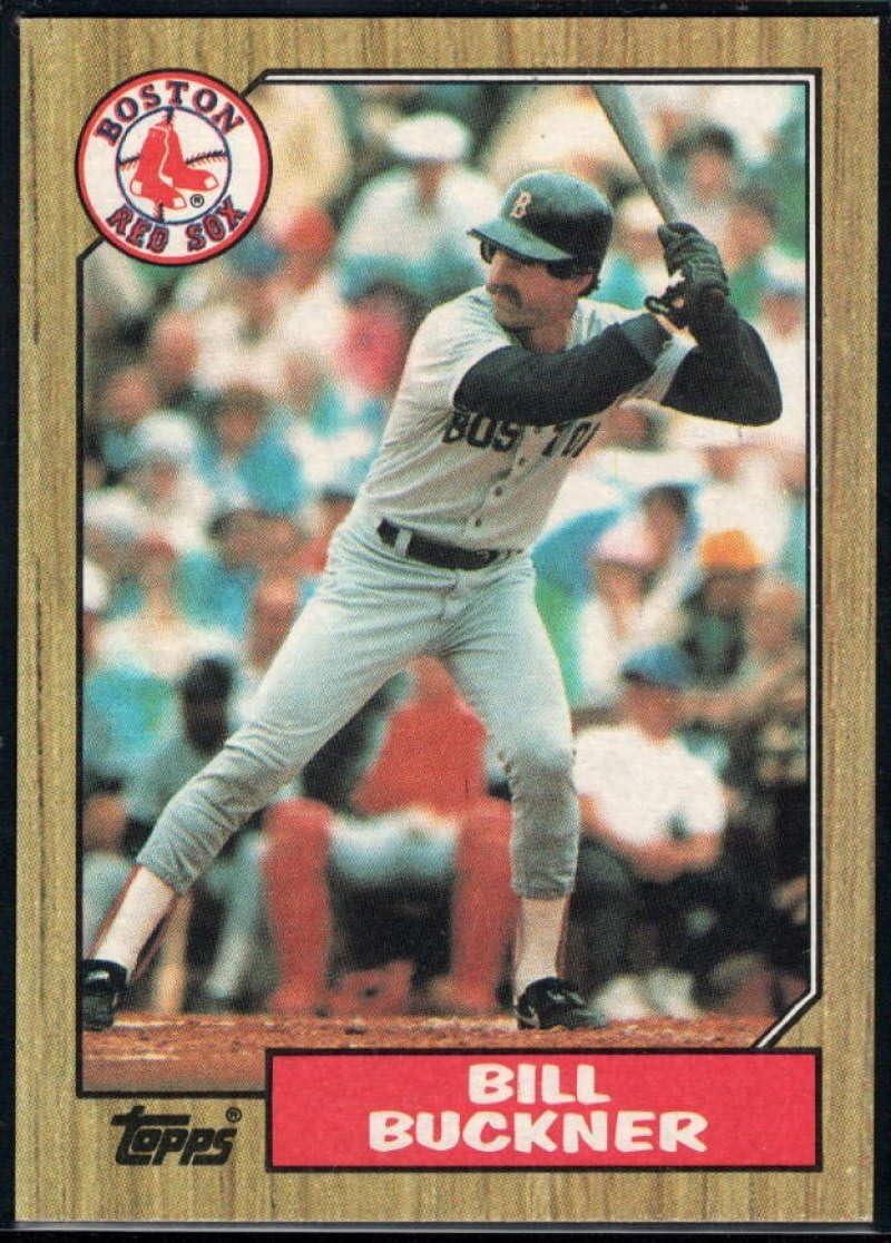 1987 Fleer Glossy #31 Bill Buckner Boston Red Sox