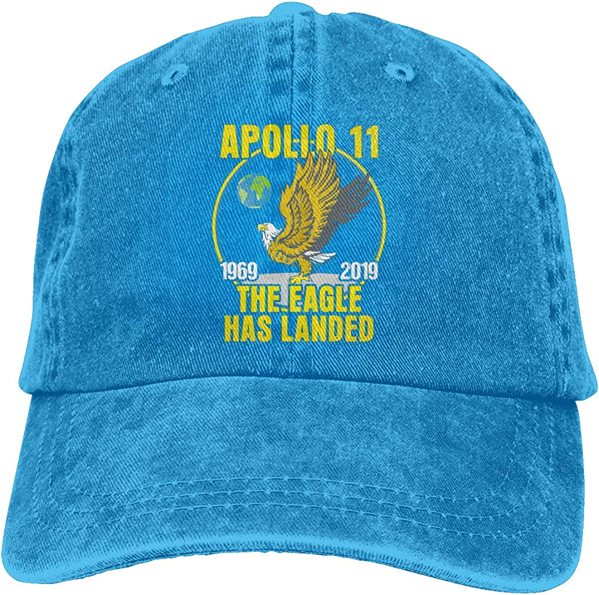 Apollo 11 50th Anniversary Sports Cap for Mens and Womens