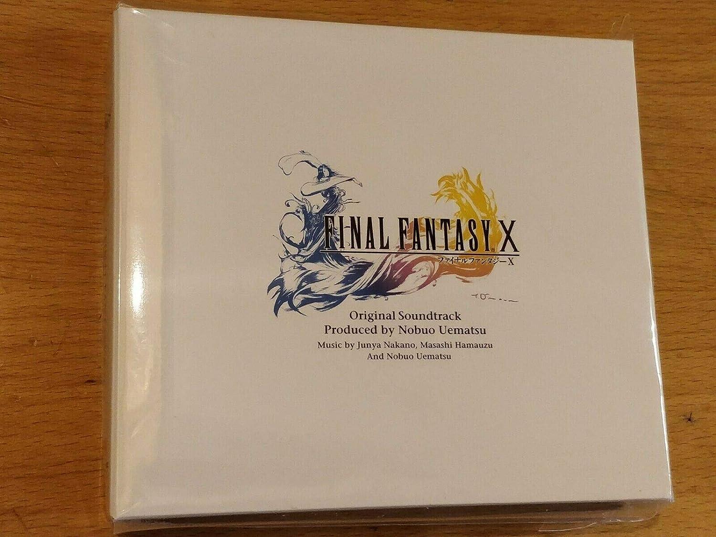 Over item handling Final Fantasy X Soundtrack Max 48% OFF Original