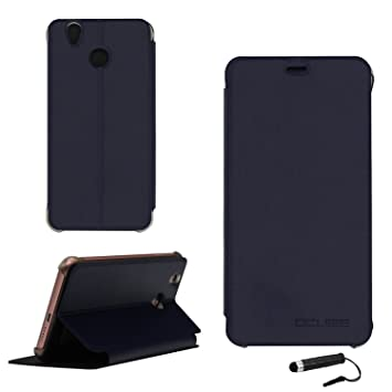 Funda Libro para Oukitel U7 pro / U7 plus, Ycloud PU Leather Slim Flip Cover Carcasa Cubierta Enrrollada Perfectamente al Móvil de Multi-Angle ...
