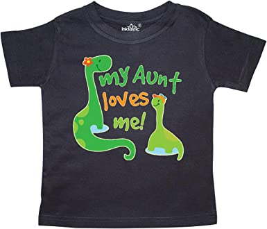inktastic Great Aunt Loves Me Niece Gift Baby T-Shirt