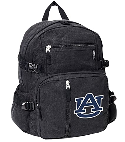 Amazon com : Broad Bay Deluxe Auburn Tigers Backpack Canvas