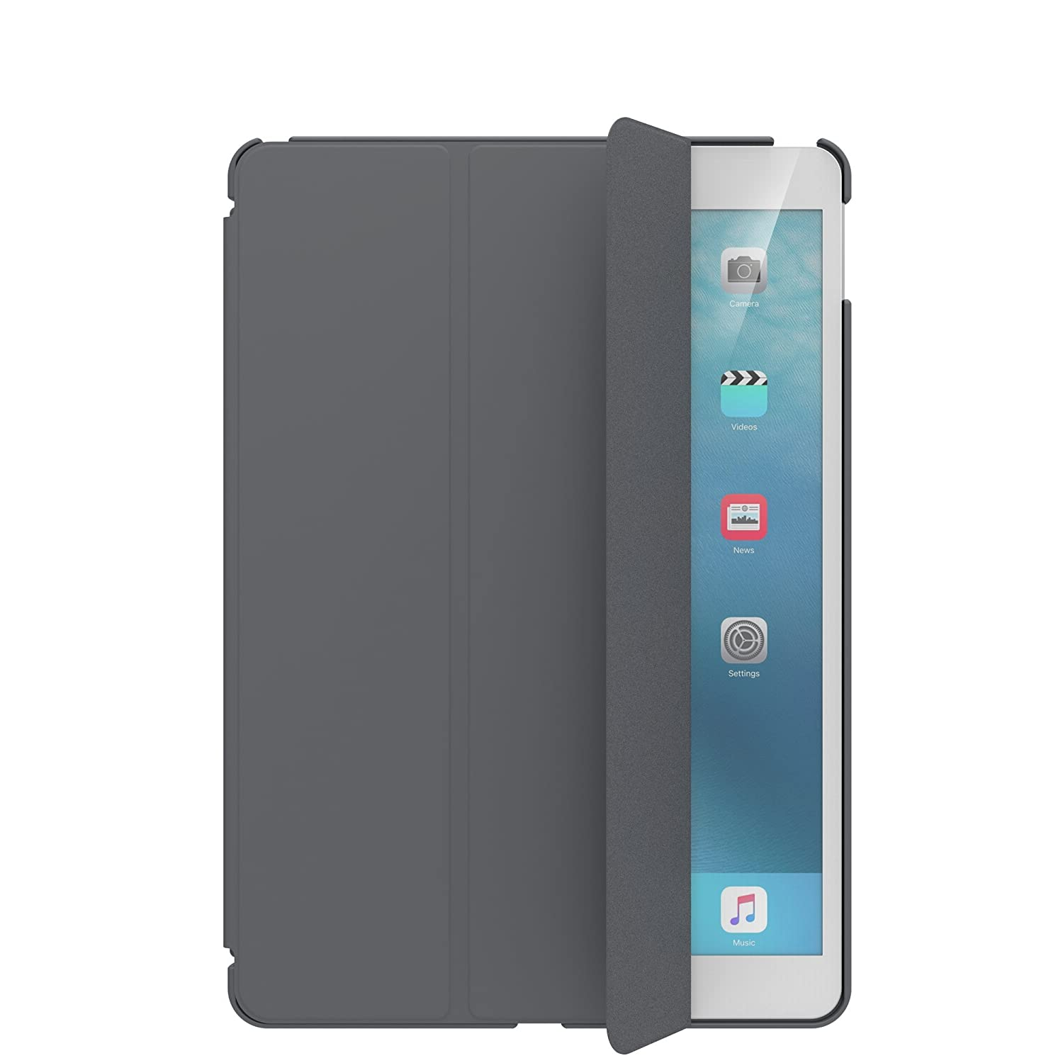 brand new c7e9a 3b0a5 SwitchEasy 2019 iPad Air 3 Case, CoverBuddy Back Cover with Pencil Holder  for iPad Air 3rd Generation and iPad Pro 10.5-inch. Compatible with Smart  ...