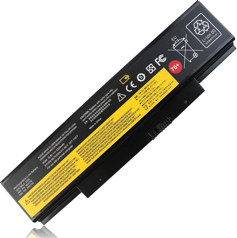 Yongerwy 76+ 45N1761 45N1762 Battery 45N1758 45N1759 Compatible for Lenovo ThinkPad (Edge) E550 E550C E555 E560 E565 Series 45N1760 45N1763 45N15E9 45N8961 45NE560 45NYU63 45R6758 4X50G59217