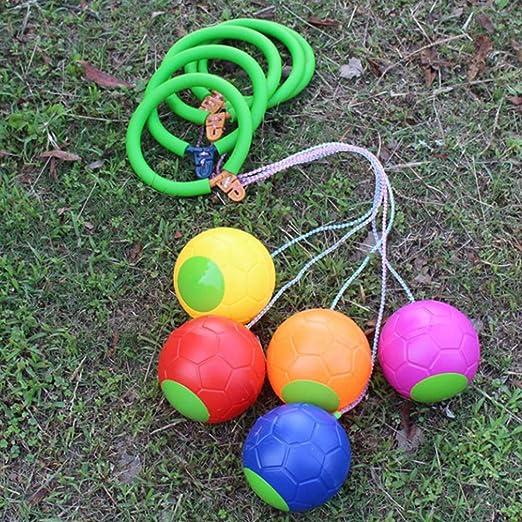 TOYANDONA 4pcs Skip it Toy Skip-A-Long Juguete para Saltar Saltar ...