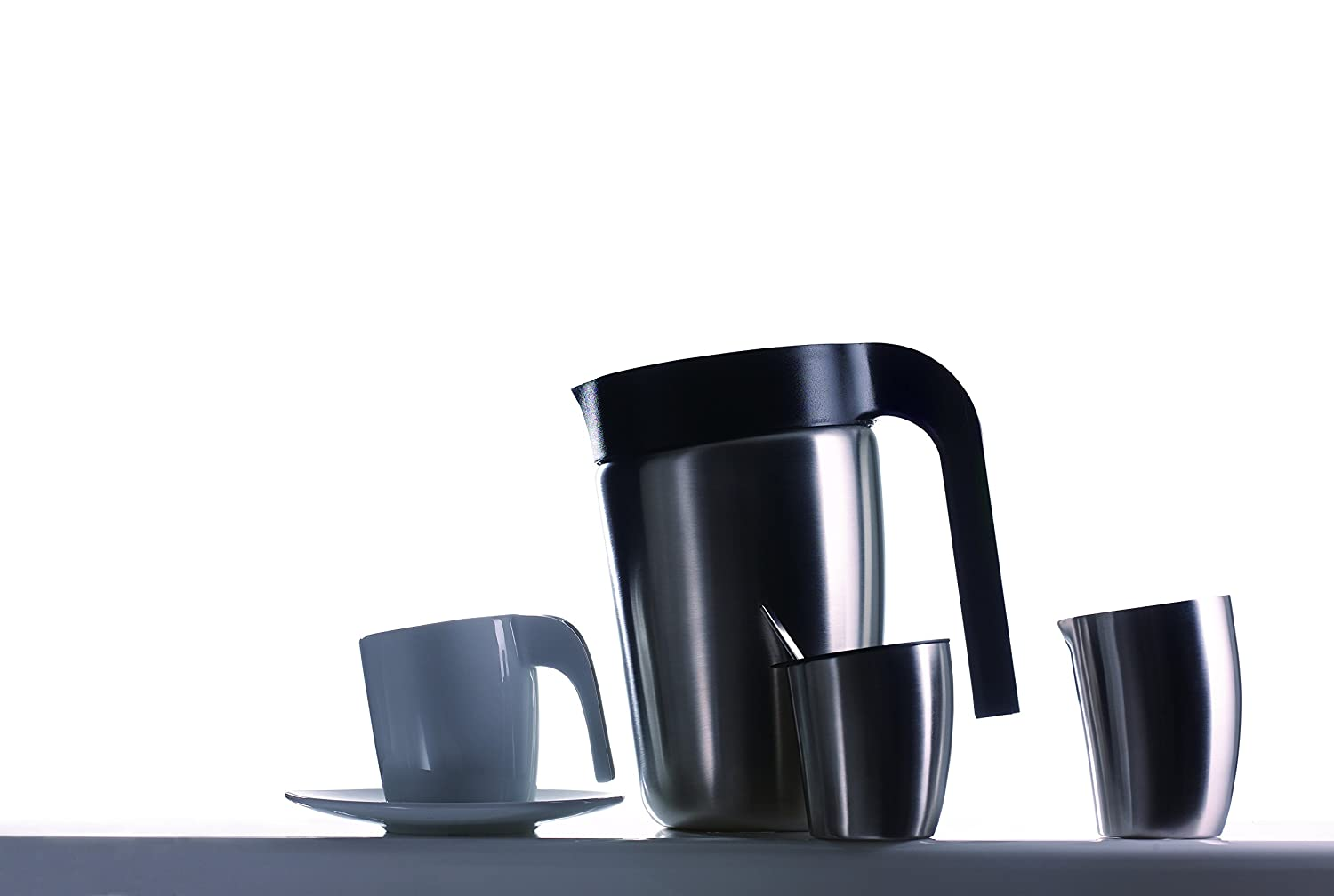 Metier KAFEI Double Wall French Press /(BK/) D0031 【18//10ステンレス製ダブルウォールフレンチプレス】 /(black color/)