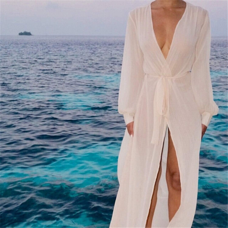 Pareo Beach Cover Up Bikini Cover Up Swimwear Women Robe De Plage Beach Cardigan,1,XL