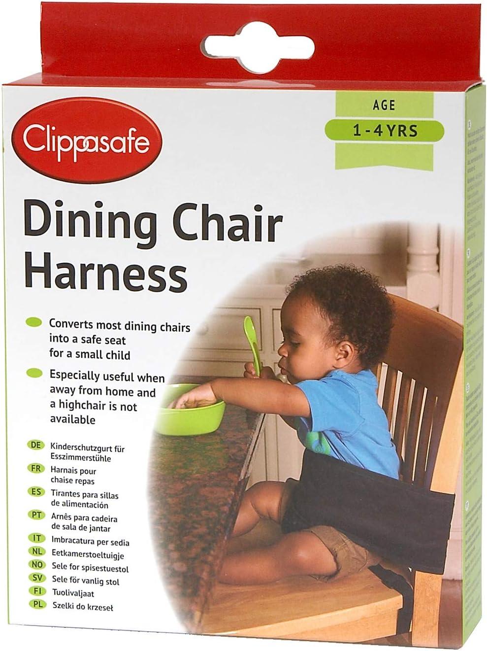 Clippasafe Arnés de silla de comedor: Amazon.es: Bebé