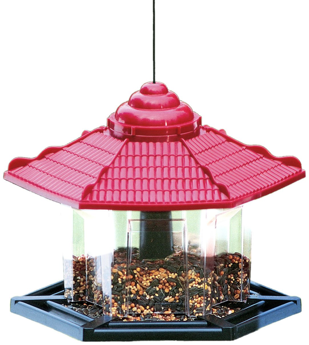 bird gazebo valley best do zoom super products it feeder cherry