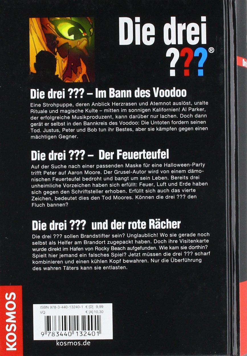 Die Drei Brennende Gefahr Drei Fragezeichen