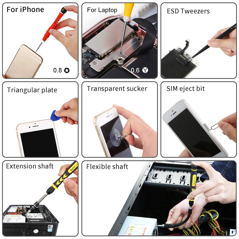 17c88a67bbd Amazon.com  Kaisi 38-Piece Magnetic Screwdriver Set Precision Toolkit -  Electronics