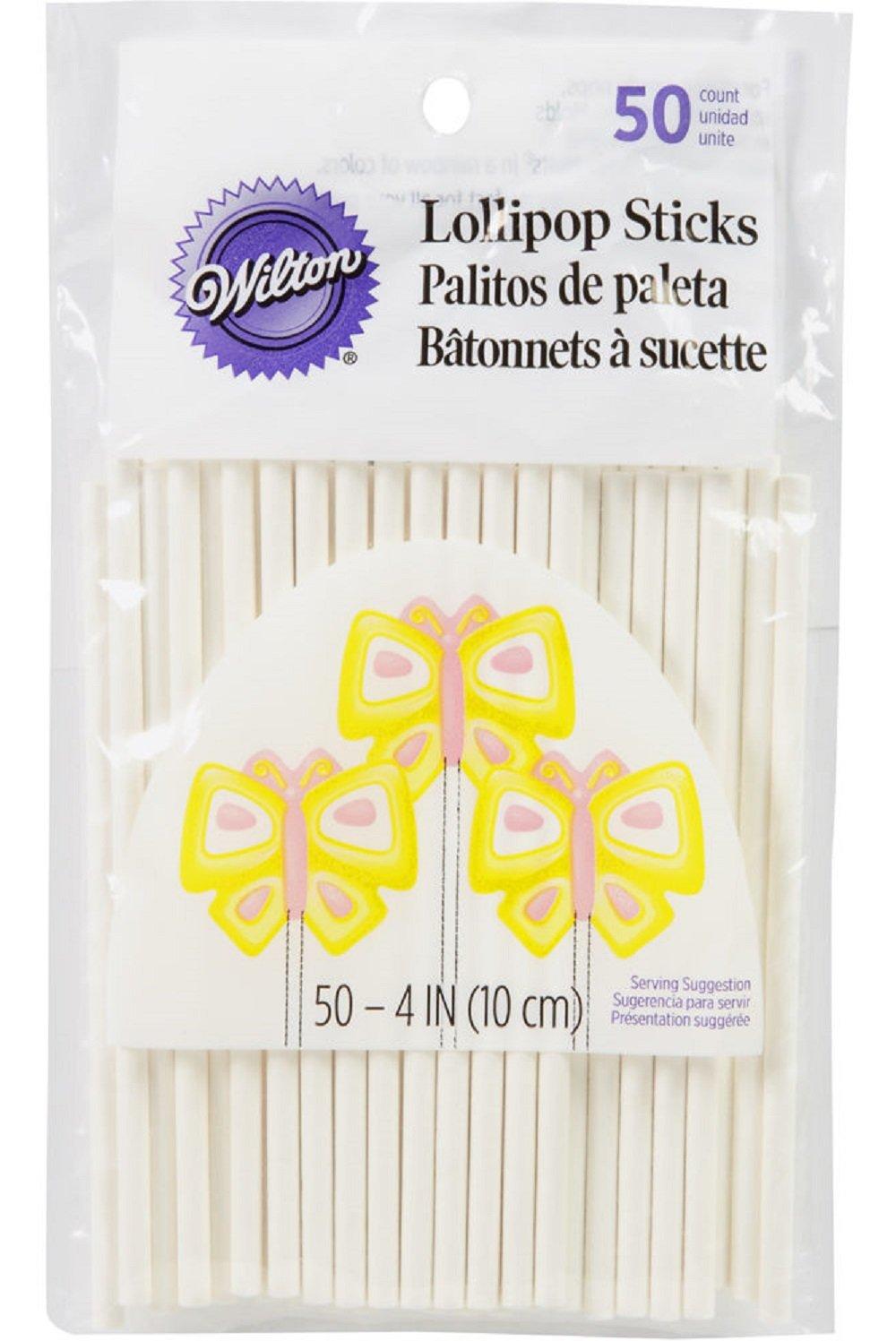 Wilton lollipop Sticks 4 Inch 100ct
