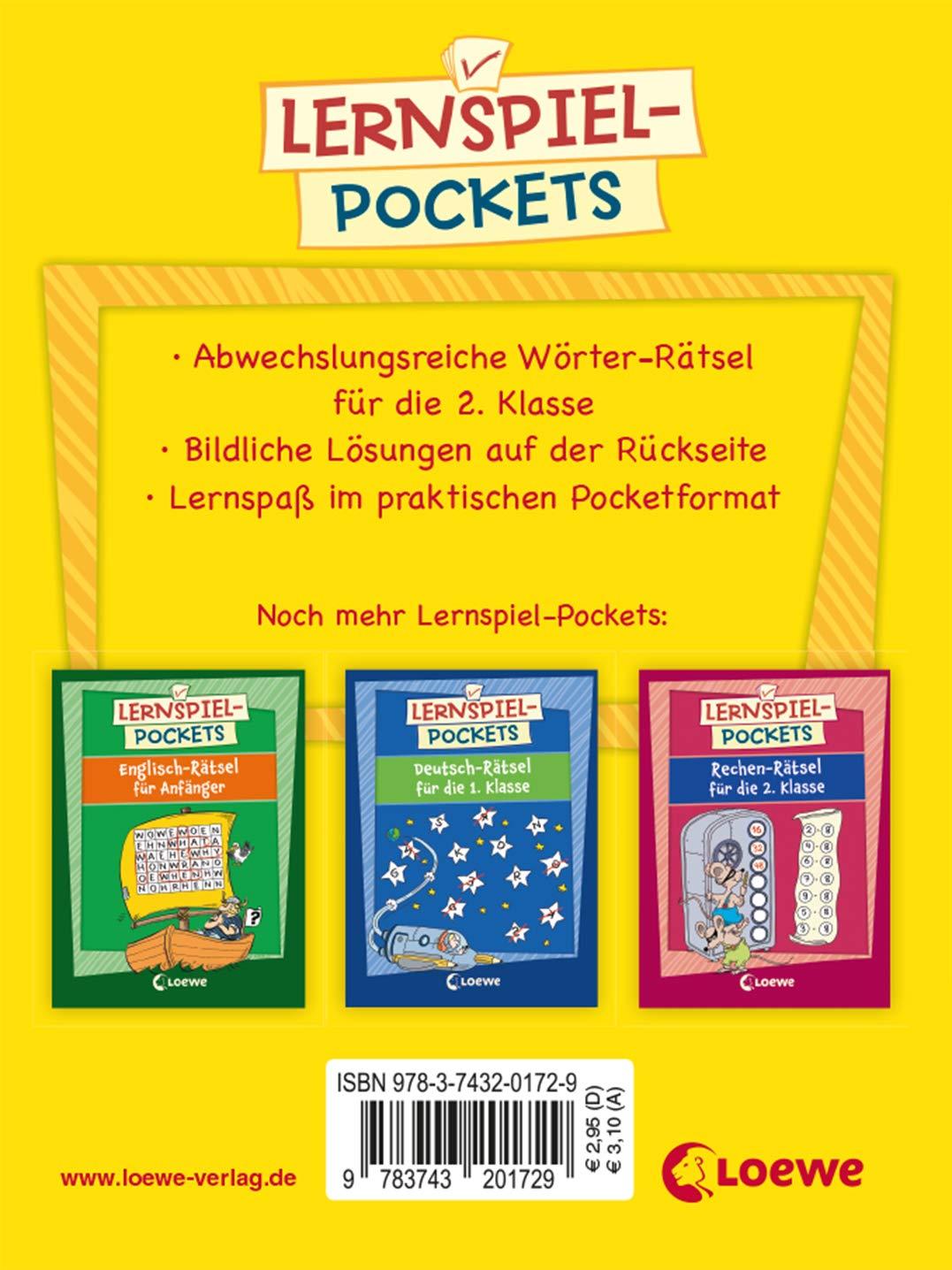 Lernspiel Pockets Wörter Rätsel Für Die 2 Klasse Amazonde